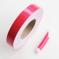 【1mからカット売り!新体操・舞台・映像にも】グリッターテープ・蛍光ピンク