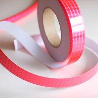 【1mからカット売り!新体操・舞台・映像にも】プリズムテープ・蛍光ピンク