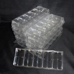 チップラック<100枚収納・アクリル製>10個セット(在庫処分)
