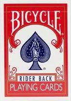 BICYCLE バイスクル ライダーバック [ポーカーサイズ] 【レッド・ブルー・ブラック】