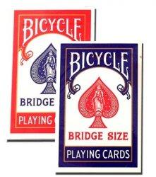 BICYCLE バイスクル ライダーバック [ブリッジサイズ] 【レッド ・ ブルー】