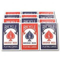 BICYCLE バイスクル ライダーバック [ブリッジ] 【レッド ・ ブルー】1ダース<レッド6・ブルー6>