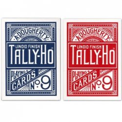 TALLY-HO (タリホー) ファンバック [ポーカーサイズ] 【レッド / ブルー】