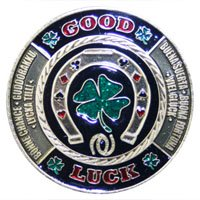 カードプロテクター 「GOOD LUCK」-ポーカープレイヤー用