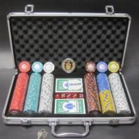 フォースポット・ポーカーセット300 -シルバー・チップセット