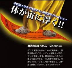 魔法のじゅうたん<マジック・手品> -マジックテイメント・シリーズ