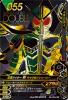BS2-055★ 仮面ライダーW サイクロンジョーカー (LRSP)