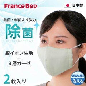 キュリエスAG 除菌立体マスク(2枚入り)