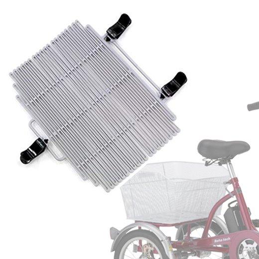 後ろカゴ飛び出し防止ネット(自転車用)