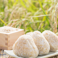 自然耕の米(純) こしひかりの玄米 1kg (お試しサイズ)
