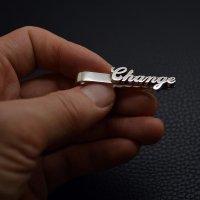 ■ネクタイピン メッセージ Change