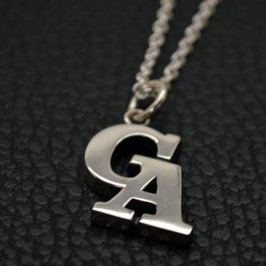 ■【GA】オリジナル・イニシャルネックレス製作例