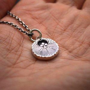 ■家紋ネックレス製作例【浮線桐】