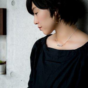 ■シルバー製ネームネックレス-銀無垢仕上げ-[イングランド書体] ※45(43)cmチェーン付