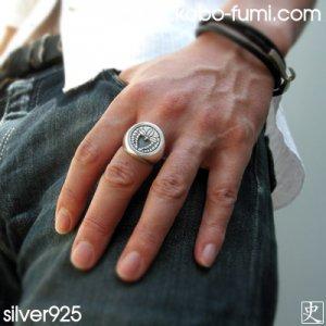 ■オーダーメイド家紋指輪(印台リング)通販【3週間お届け・全国可】あなたの家紋が刻めます 17〜30号