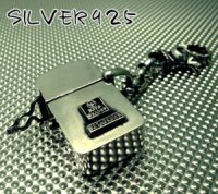 □-wildorange-シルバー製マイクロオイルライター【ナスカン付】※オイル別(郵便法により)
