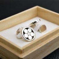 ■丸に梅鉢 家紋カフスボタン 製作例