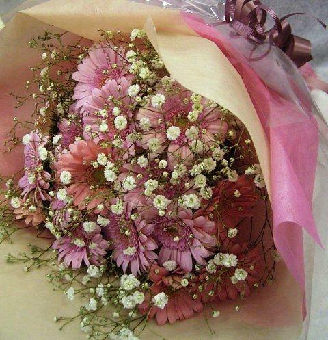 ガーベラブーケ花束