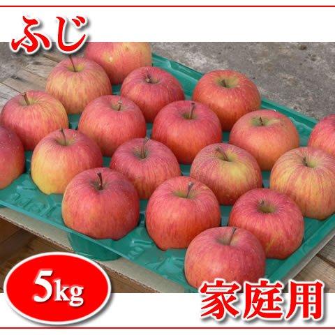 秋田りんご『ふじ』家庭用 5kg