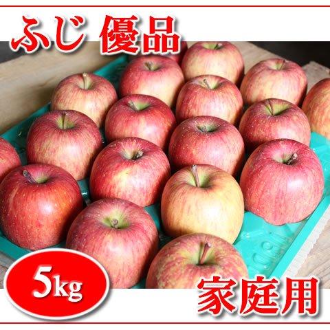 秋田りんご『ふじ』家庭用優品 5kg