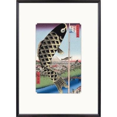 歌川広重 水道橋駿河台 hiroshige-173 [1]