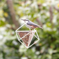 Peanut Feeder Cube WHITE