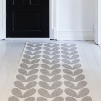 <img class='new_mark_img1' src='https://img.shop-pro.jp/img/new/icons26.gif' style='border:none;display:inline;margin:0px;padding:0px;width:auto;' />BRITA SWEDEN PLUSTIC RUG SMALL 〈KARIN〉ブリタスウェーデン ラグ