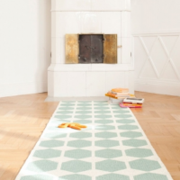<img class='new_mark_img1' src='https://img.shop-pro.jp/img/new/icons26.gif' style='border:none;display:inline;margin:0px;padding:0px;width:auto;' />BRITA SWEDEN PLUSTIC RUG SMALL 〈ANNA〉 ブリタスウェーデン ラグ