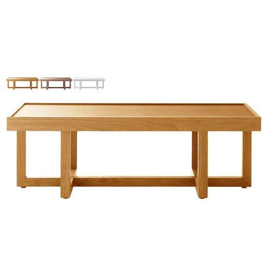 LT-61-W リビングテーブル ウォールナット<br>ローテーブル センターテーブル<br>長方形
