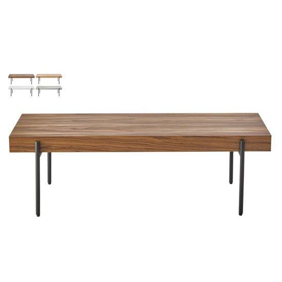 LT-49 リビングテーブル オーク<br>ローテーブル センターテーブル<br>長方形