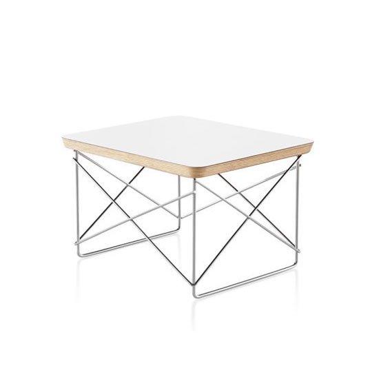 イームズワイヤーベーステーブル LTRT スタジオホワイト×スタジオホワイト ハーマンミラー正規品