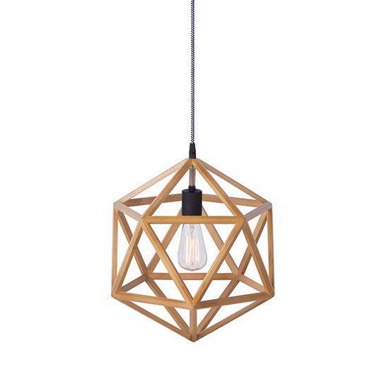 AW-0486 Anagram pendant S<br>アナグラムウッドペンダント S<br>ペンダントライト 1灯用<br>LED対応