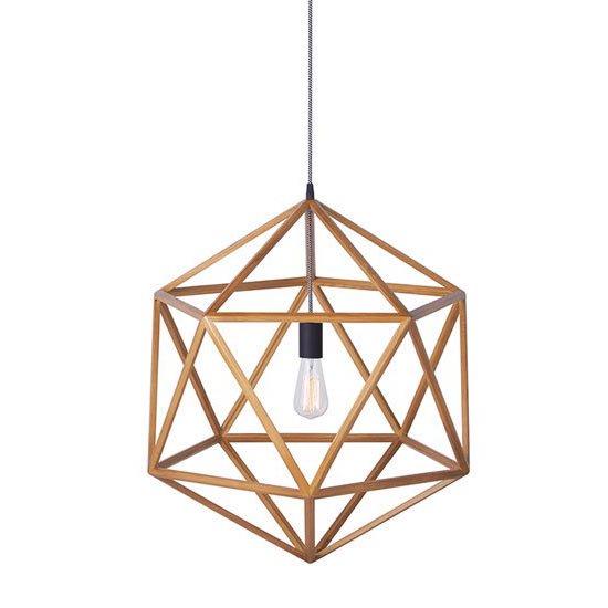 AW-0487 Anagram wood pendant L アナグラムウッドペンダント L