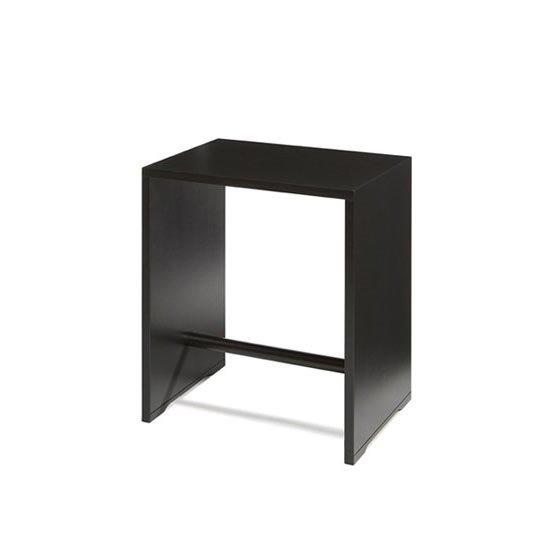 ウルムスツール ブラック<br>Ulm Stool<br>マックスビル Max Bill<br>Wohnbedarf ヴォーンベダルフ