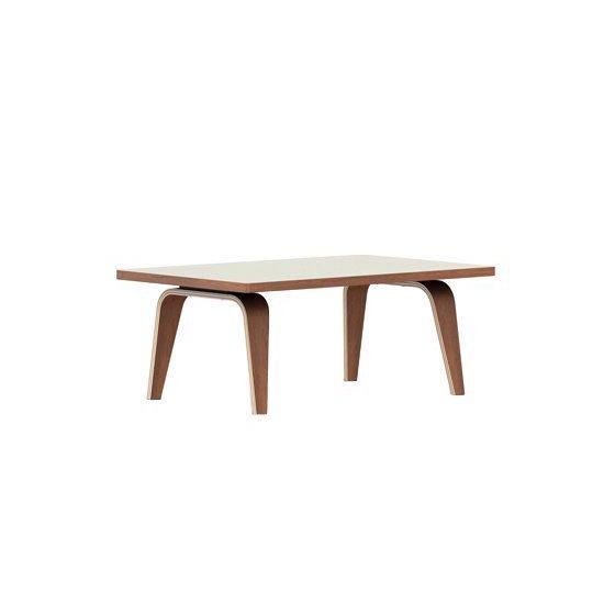 イームズレクタンギュラーコーヒーテーブル<br>910mm幅 ベニアトップ<br>ホワイトアッシュ<br>ハーマンミラー正規品