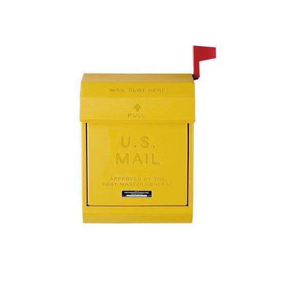 TK-2078 U.S Mail Box 2 U.S メールボックス2 玄関ポスト 郵便受け フラッグ付き