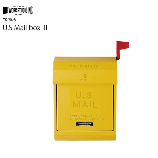 TK-2078 U.S Mail Box 2<br>U.S メールボックス2<br>玄関ポスト 郵便受け<br>フラッグ付き
