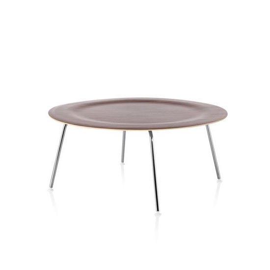 イームズ プライウッド コーヒーテーブル CTM<br>ウォールナット×ブラック<br>ハーマンミラー正規品
