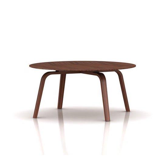 イームズ プライウッド コーヒーテーブル CTW<br>ウォールナット<br>ハーマンミラー正規品