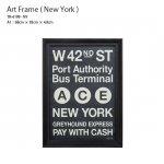 アートフレーム<br>New York ニューヨーク<br>額縁 フレーム A1サイズ<br>TR-4199