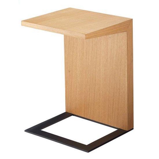 LT-58-N サイドテーブル<br>ホワイトオーク<br>ベッドテーブル ソファテーブル