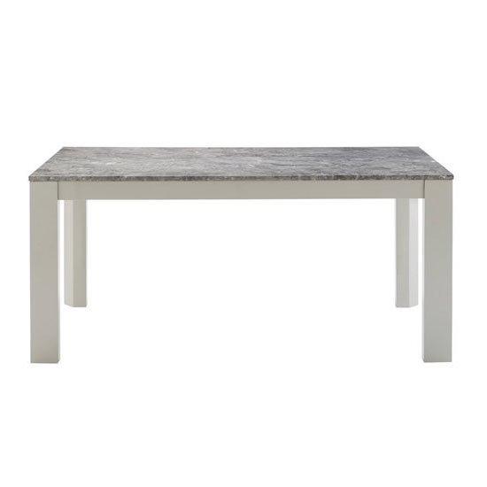 DT-15-150 ダイニングテーブル 大理石柄 長方形 幅150cm HOMEDAY