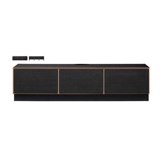ALBL-180 テレビボード<br>スチールレッグ<br>ALBA アルバ / MKマエダ