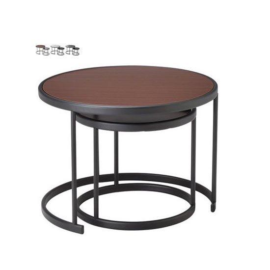 LT-82 リビングテーブル ガラステーブル HOMEDAY CHERRY 桜屋工業