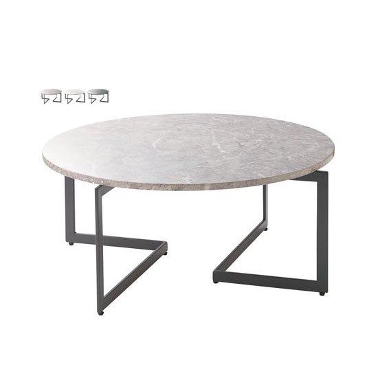 LT-86 リビングテーブル 大理石柄テーブル HOMEDAY CHERRY 桜屋工業