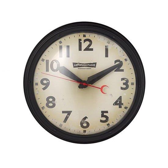 TK-2072 Engineered clock<br>エンジニアードクロック<br>ウォールクロック 壁掛け時計