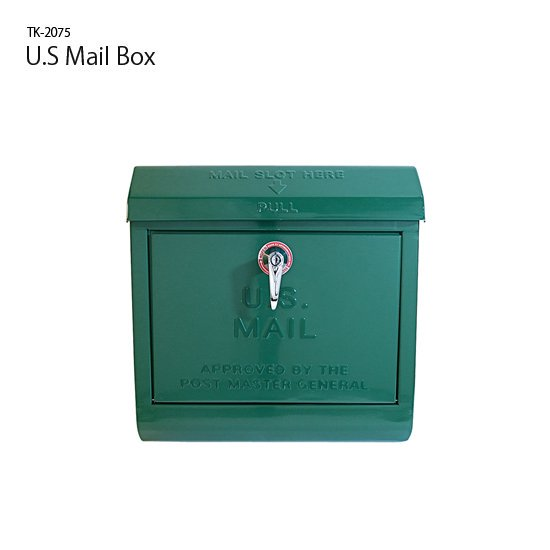 TK-2075 U.S Mail Box<br>メールボックス<br>玄関ポスト 郵便受け<br>