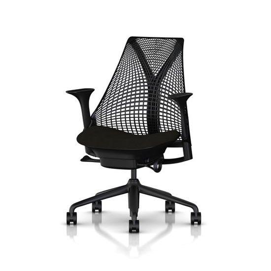 セイルチェア SAYL Chair ブラックフレーム×ブラックベース BBキャスター 即納1週間