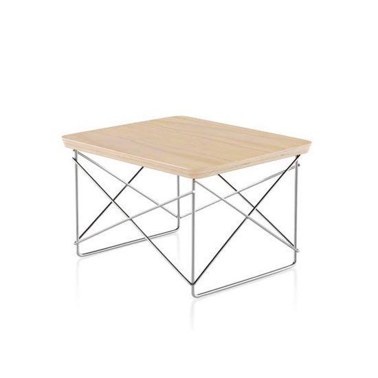 イームズ ワイヤーベース テーブル LTRT ホワイトアッシュ×ブラック ハーマンミラー正規品