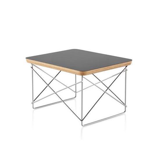 イームズワイヤーベーステーブル LTRT<br>ブラック<br>ハーマンミラー正規品